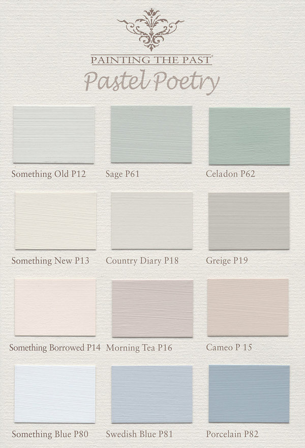 Painting The Past Pastel Poetry Möbelfarbe Eggshell